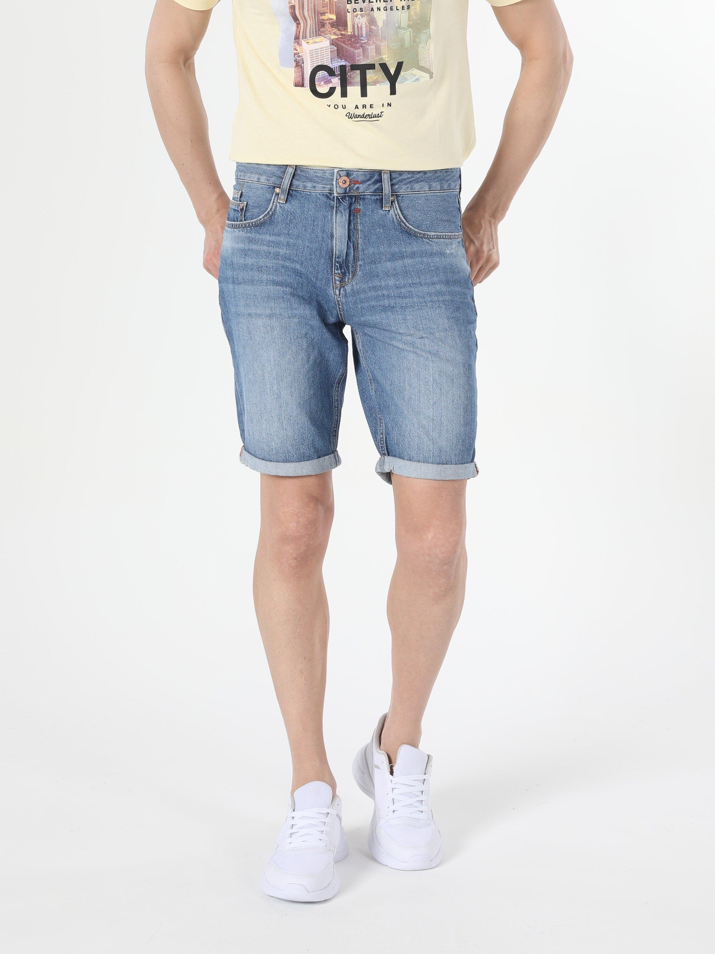 Показать информацию о Мужские прямые шорты regular fit 045 DAVID CL1054577