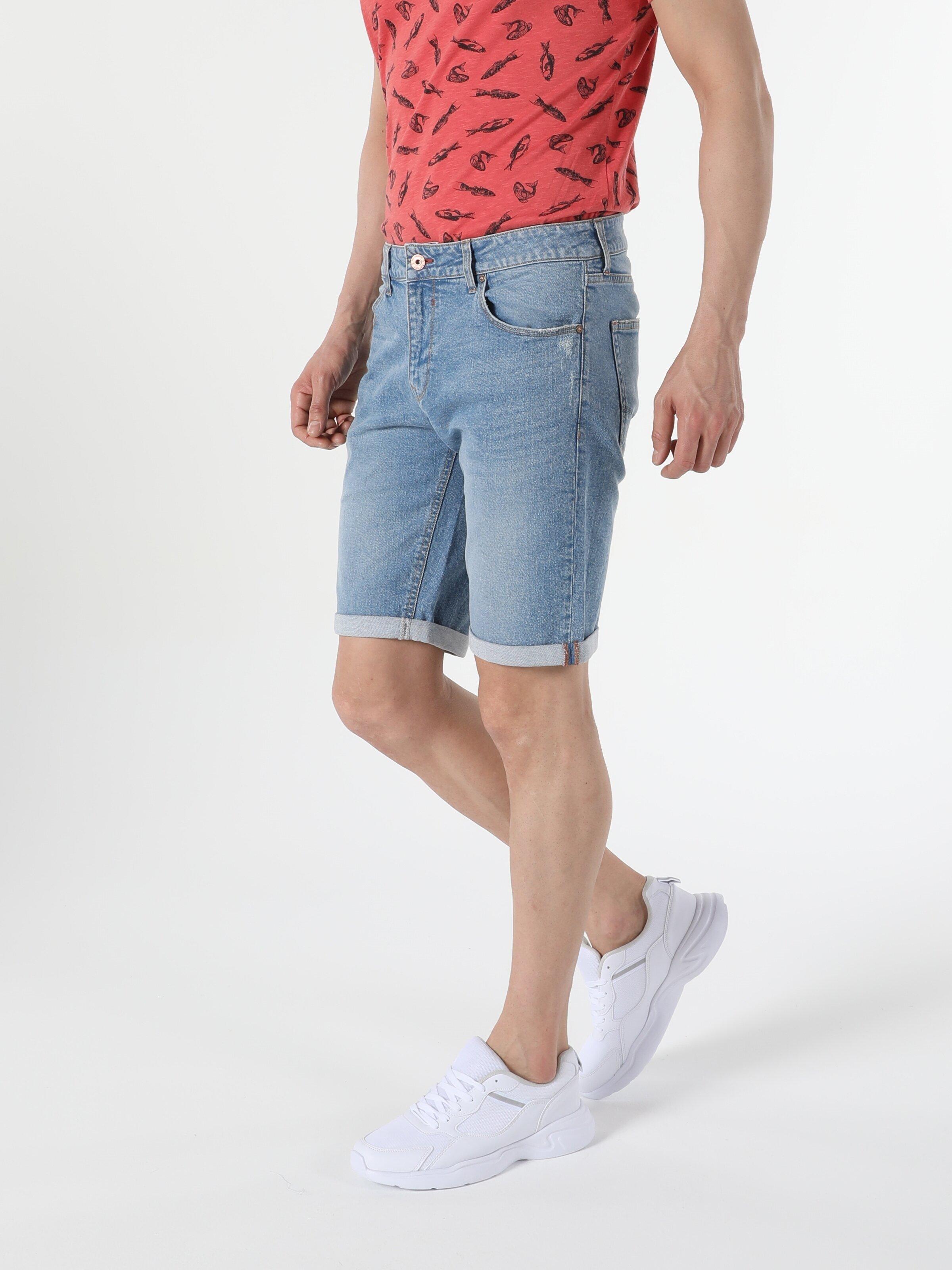 Показать информацию о Мужские прямые шорты Straight Fit 044 KARL CL1054728