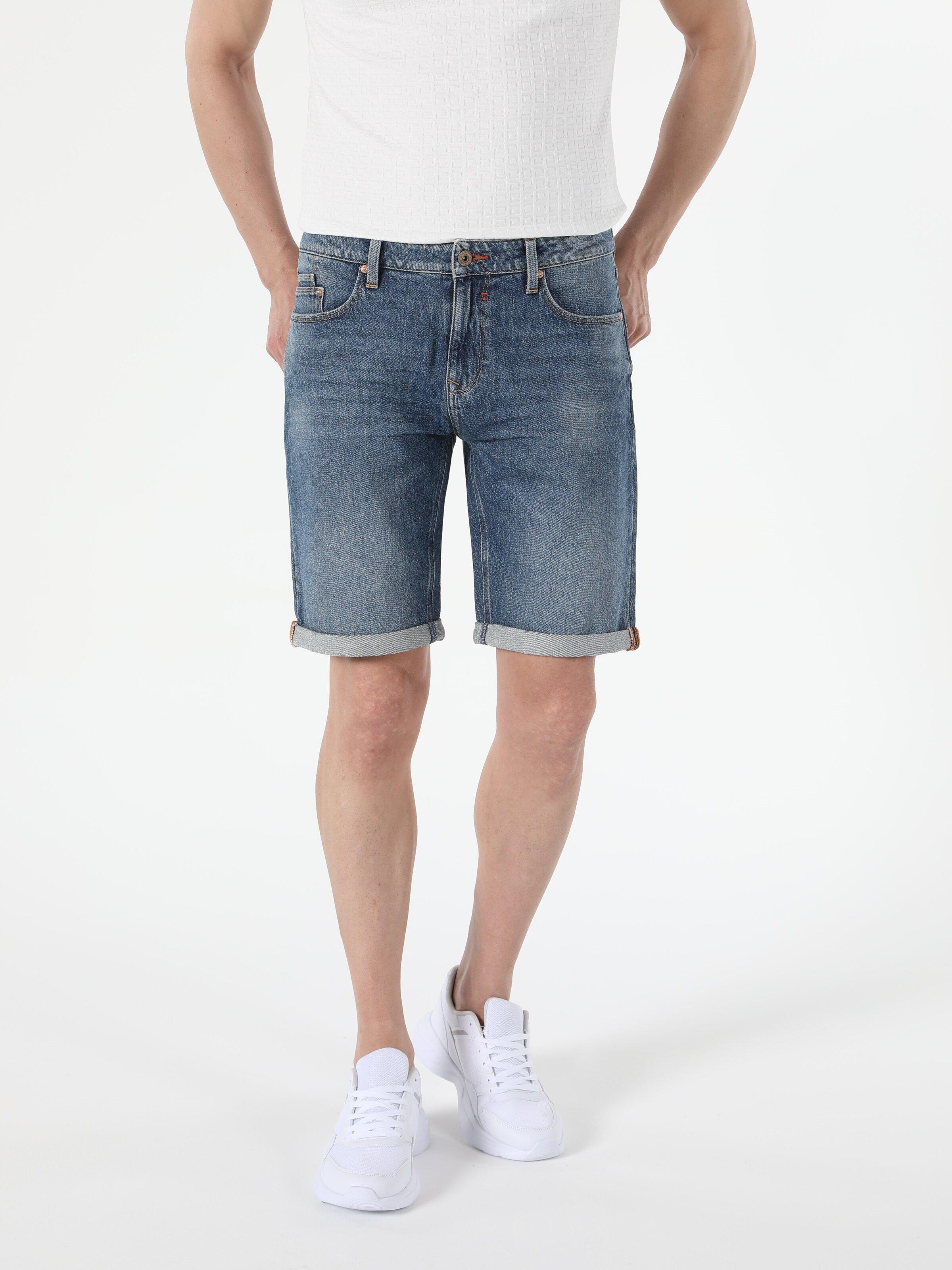 Показать информацию о Мужские прямые шорты Straight Fit 044 KARL CL1054573