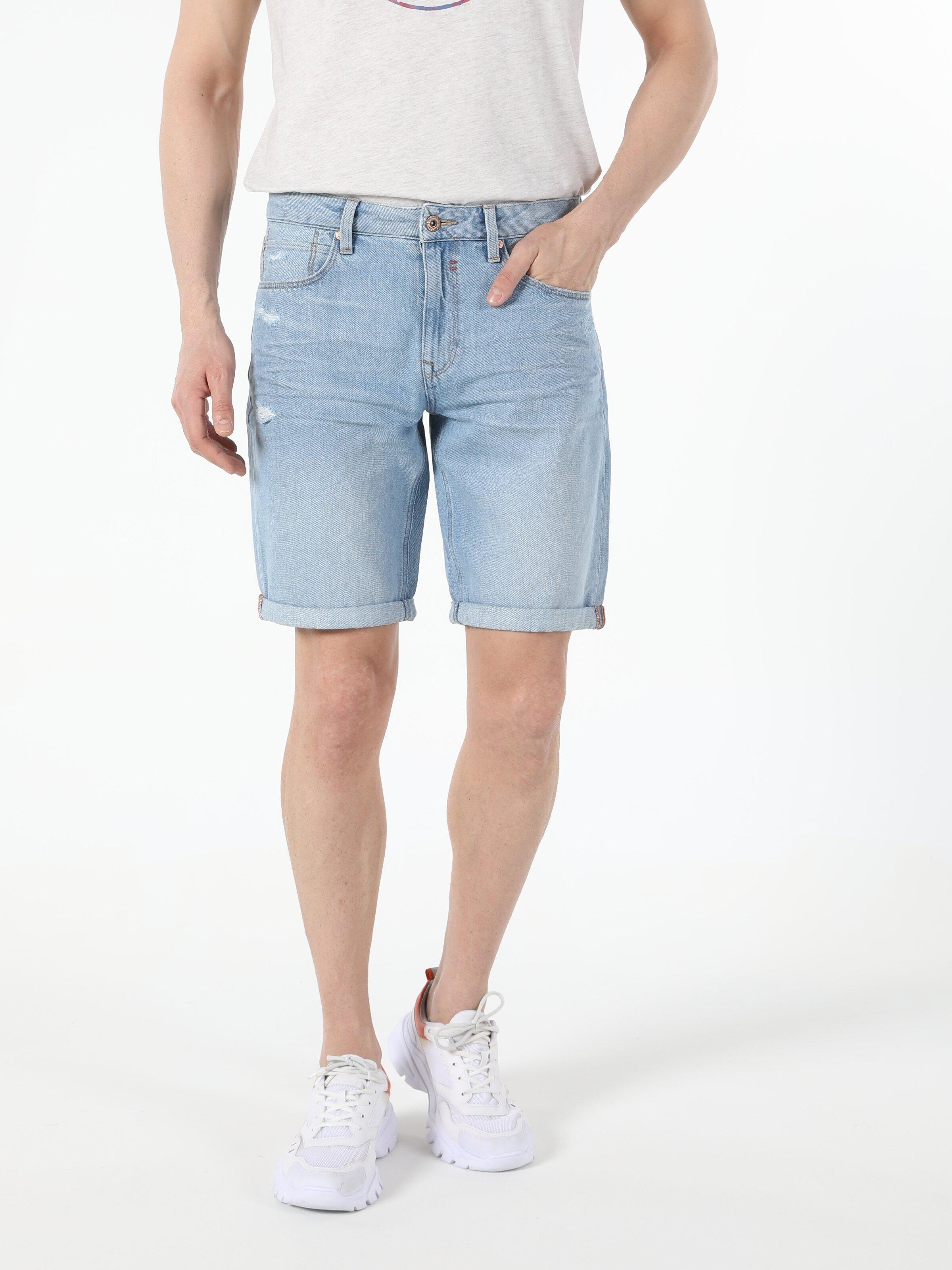 Показать информацию о Мужские прямые шорты regular fit 045 DAVID CL1054729