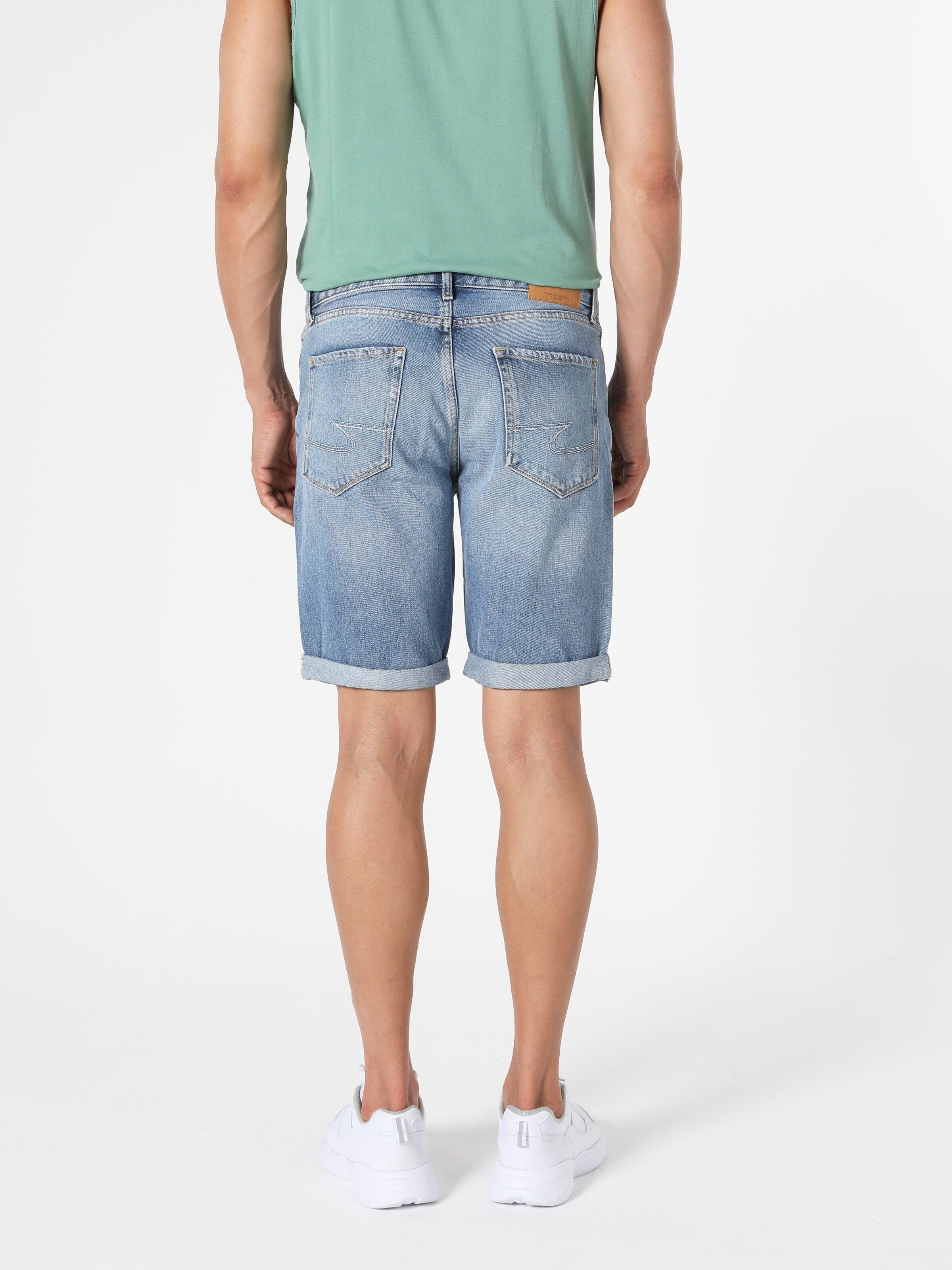 Показать информацию о Мужские прямые шорты regular fit 045 DAVID CL1054578