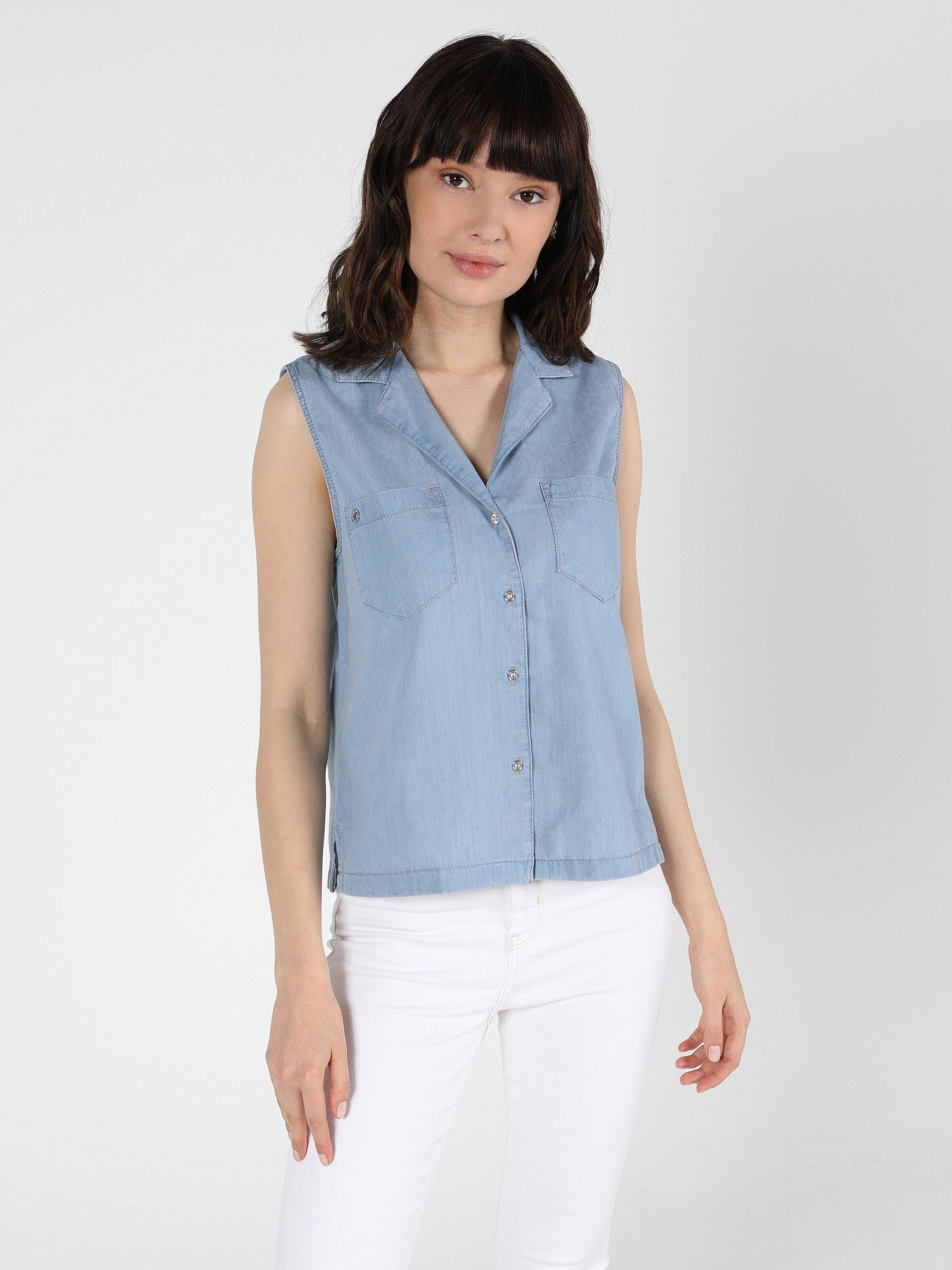 Показать информацию о Женская рубашка с коротким рукавом regular fit CL1049710