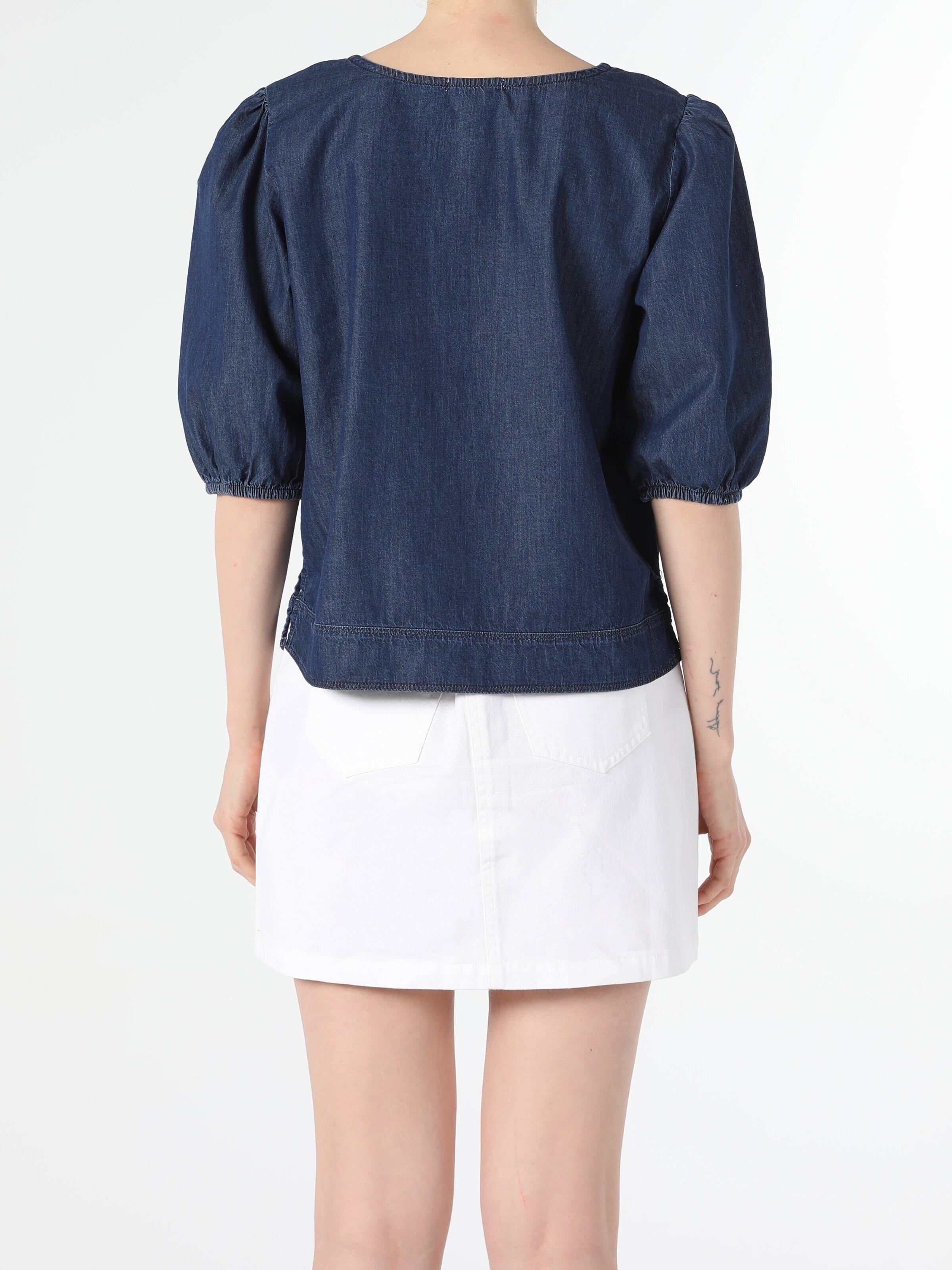Показать информацию о Женская рубашка с коротким рукавом regular fit CL1054780