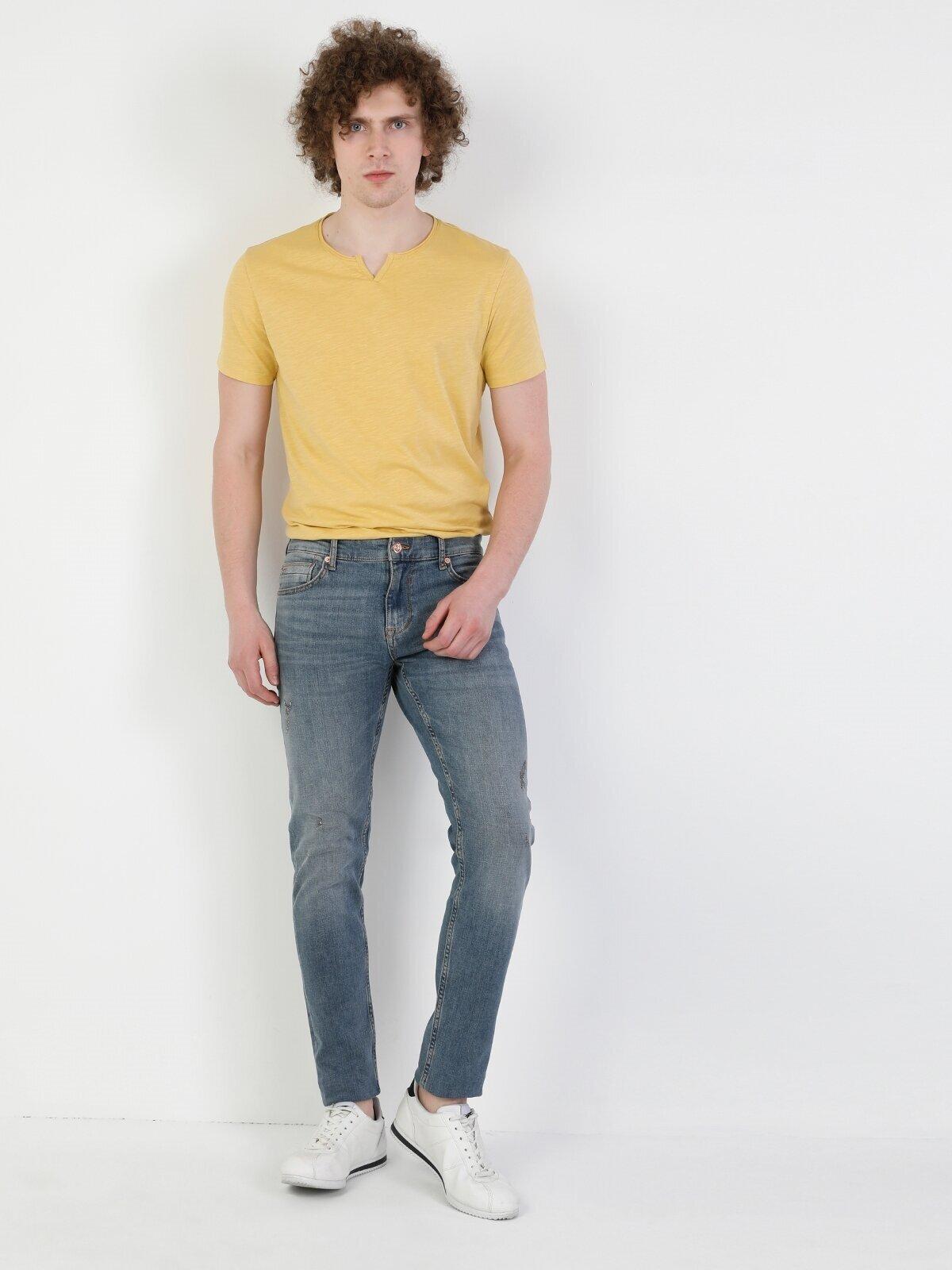 Показать информацию о Мужские узкие джинсы  041 DANNY slim fit CL1049564