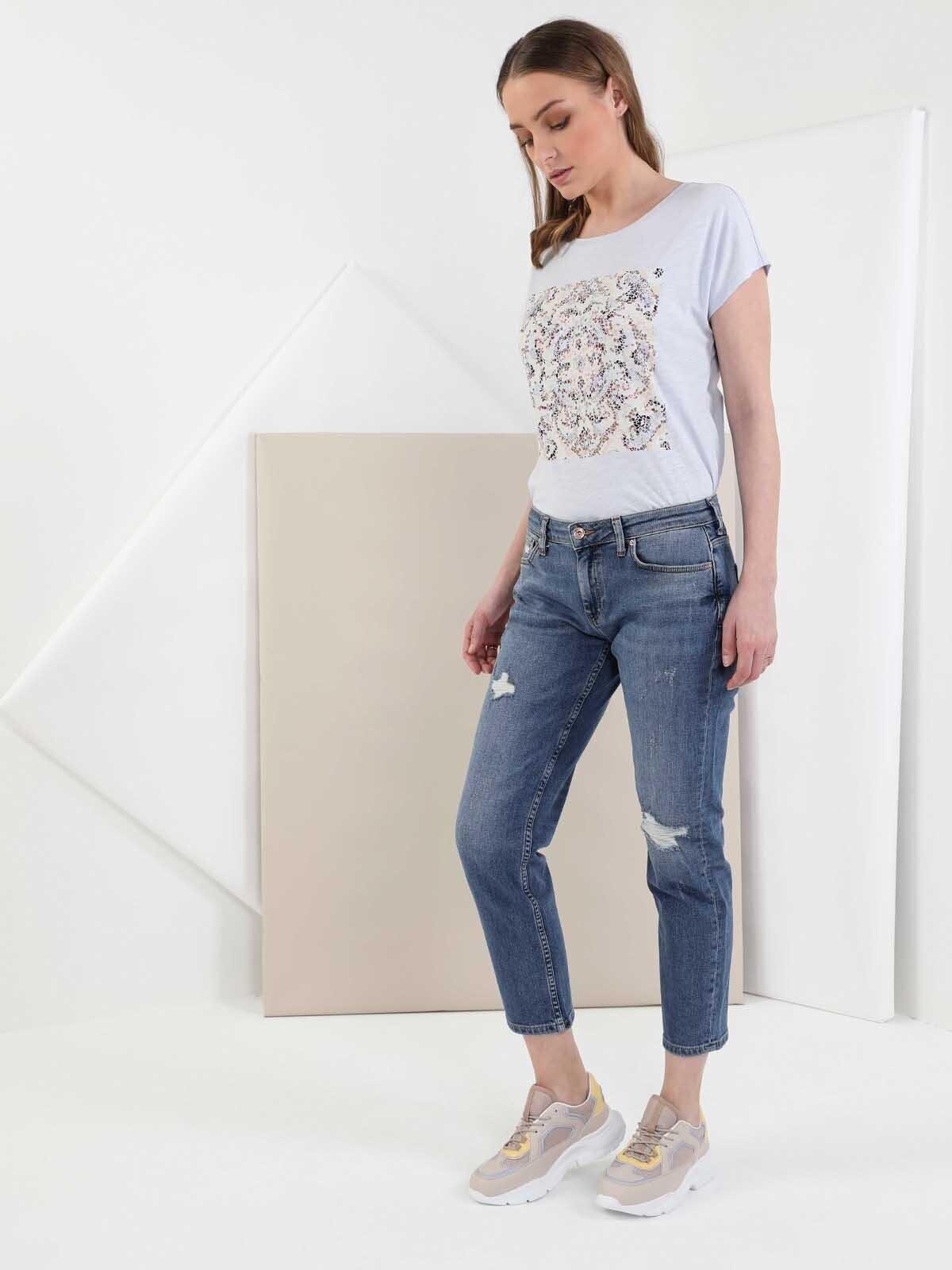 Показать информацию о Женские джинсы  CL1049675