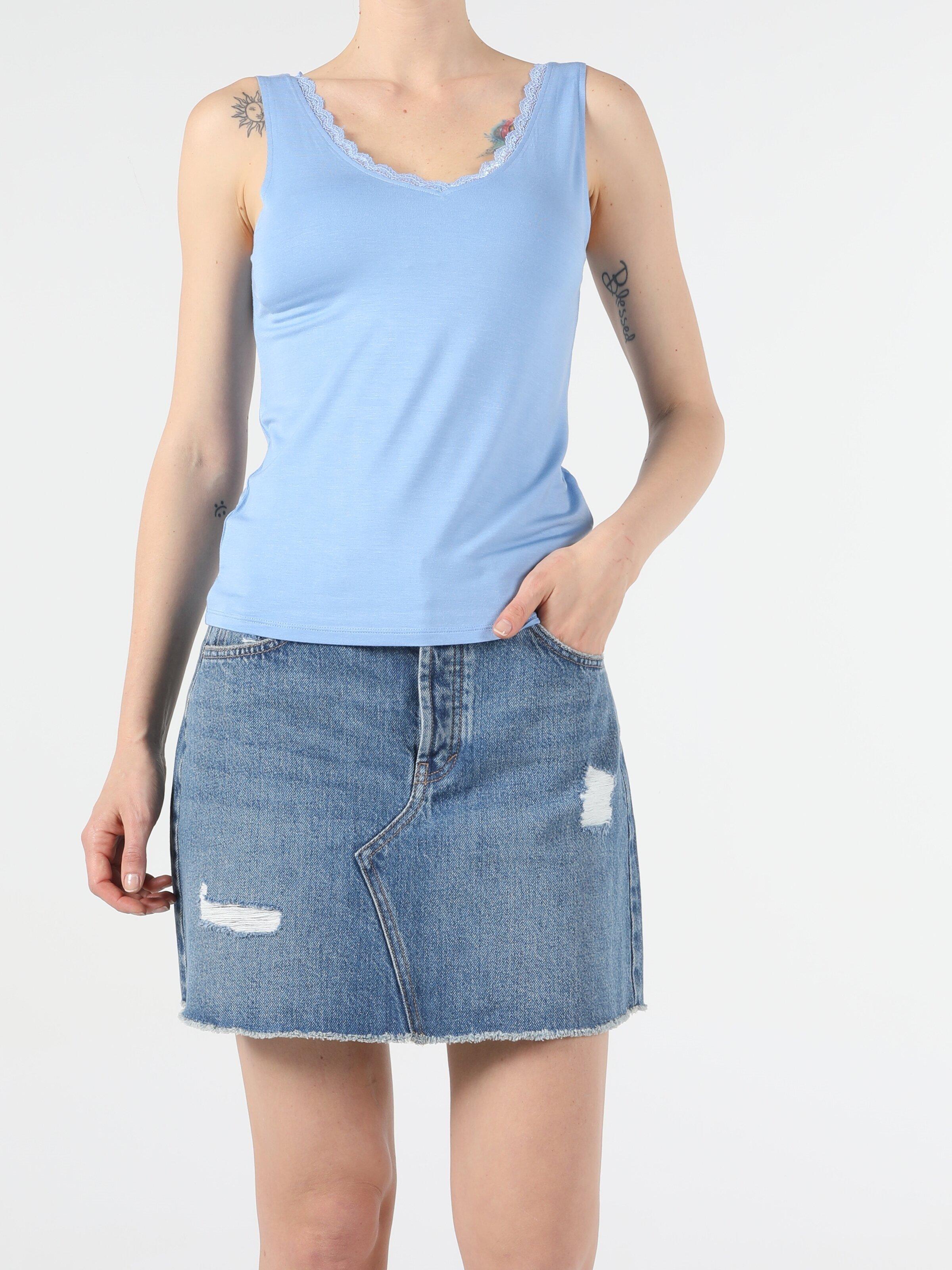 Показать информацию о Женская майка slim fit CL1054032