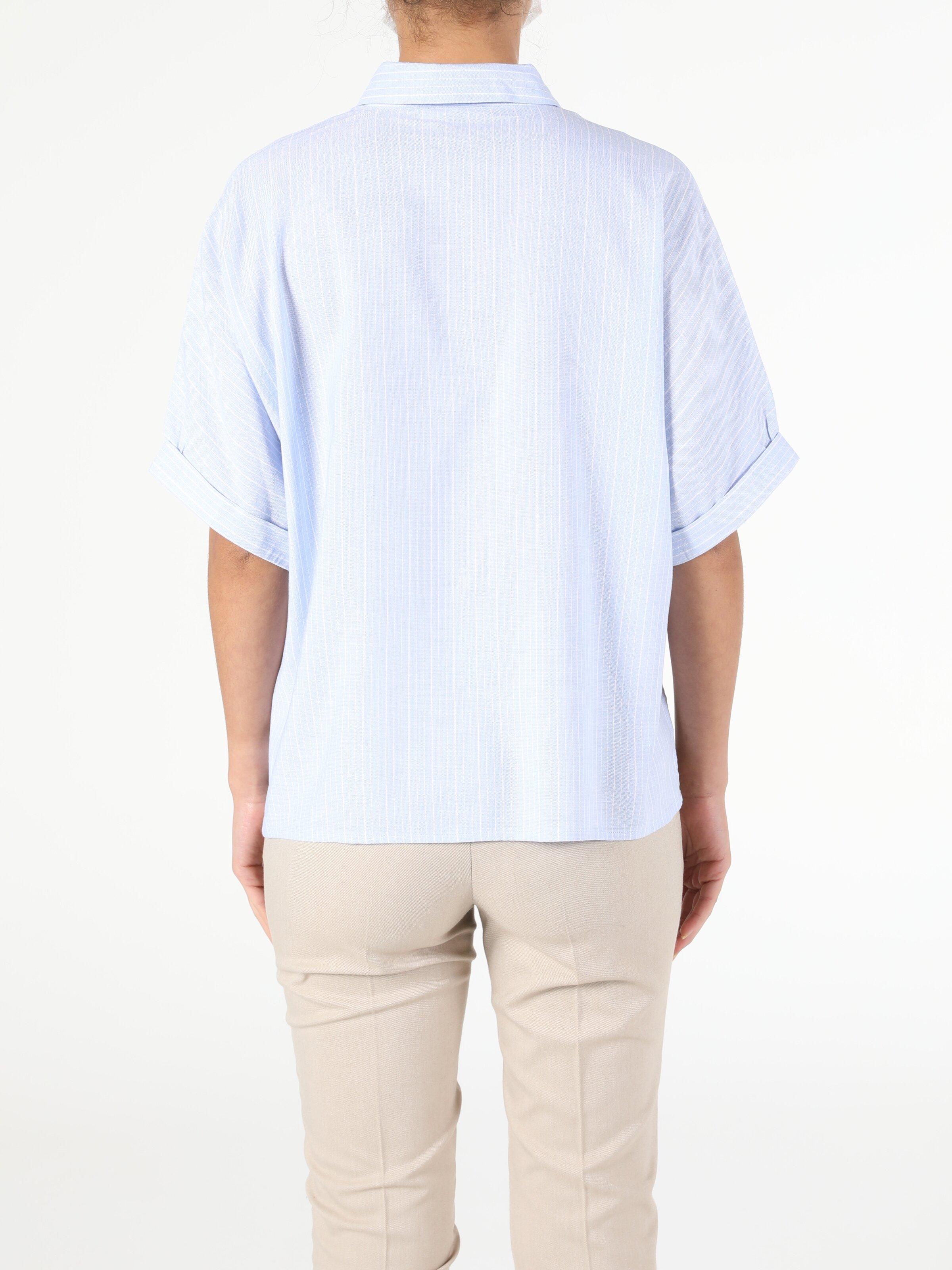 Показать информацию о Женская рубашка с коротким рукавом regular fit CL1053413