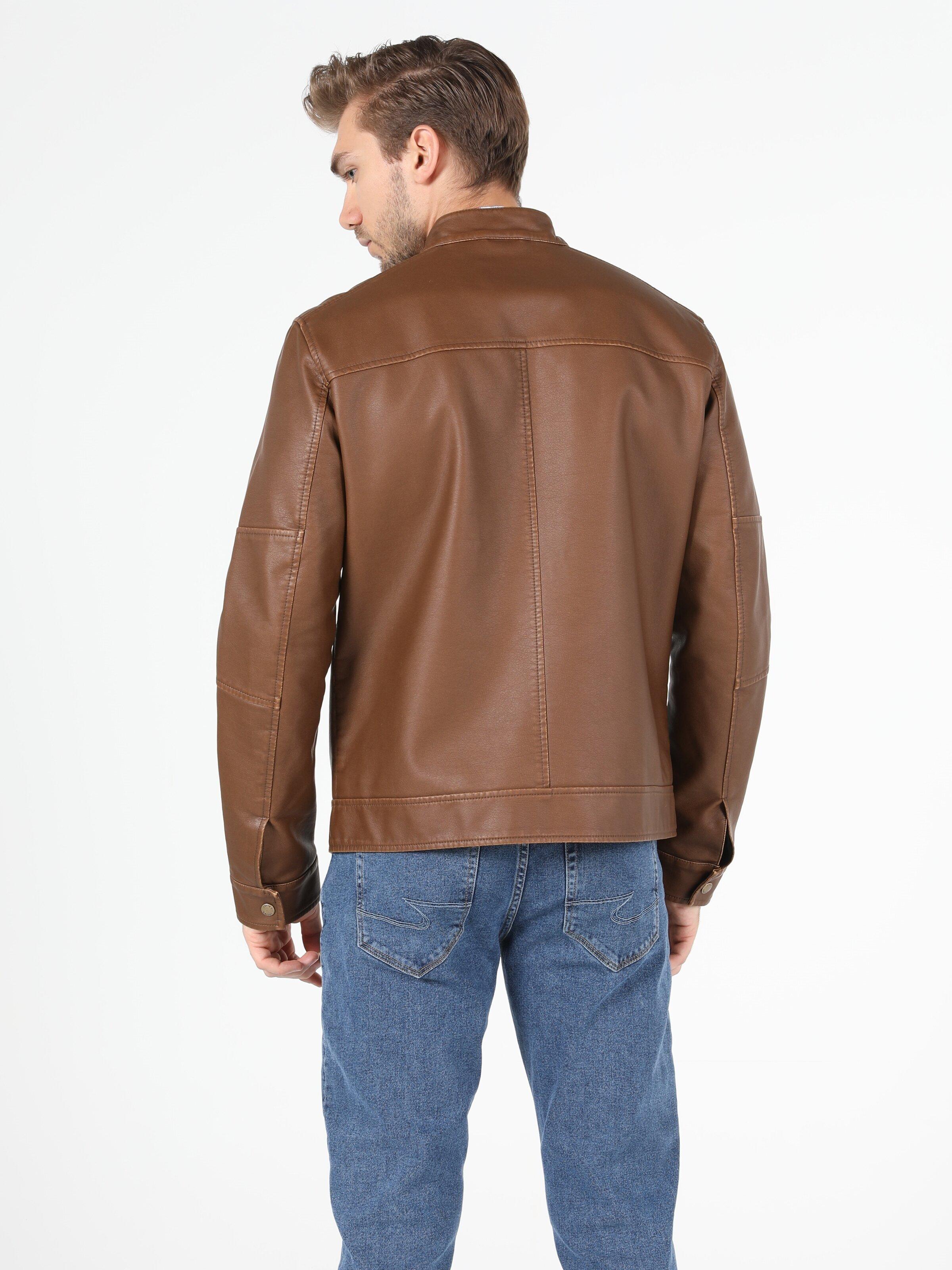 Показать информацию о Мужская куртка из эко-кожи slim fit CL1050093
