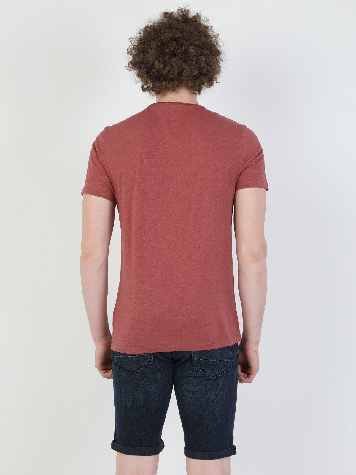 Показать информацию о Мужская футболка с коротким рукавом regular fit CL1049542
