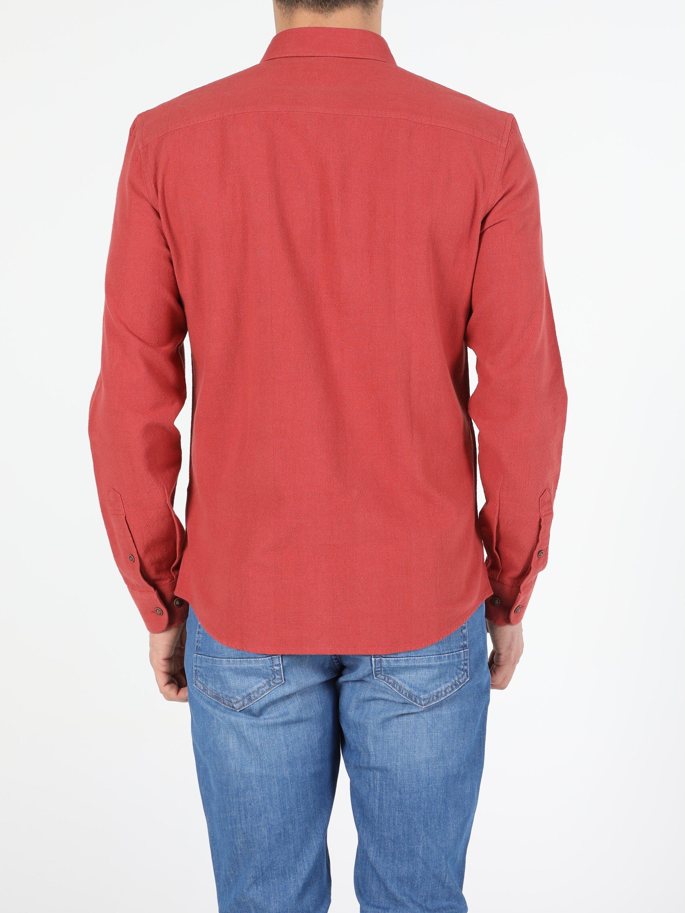 Показать информацию о Мужская рубашка с длинним рукавом slim fit CL1054951