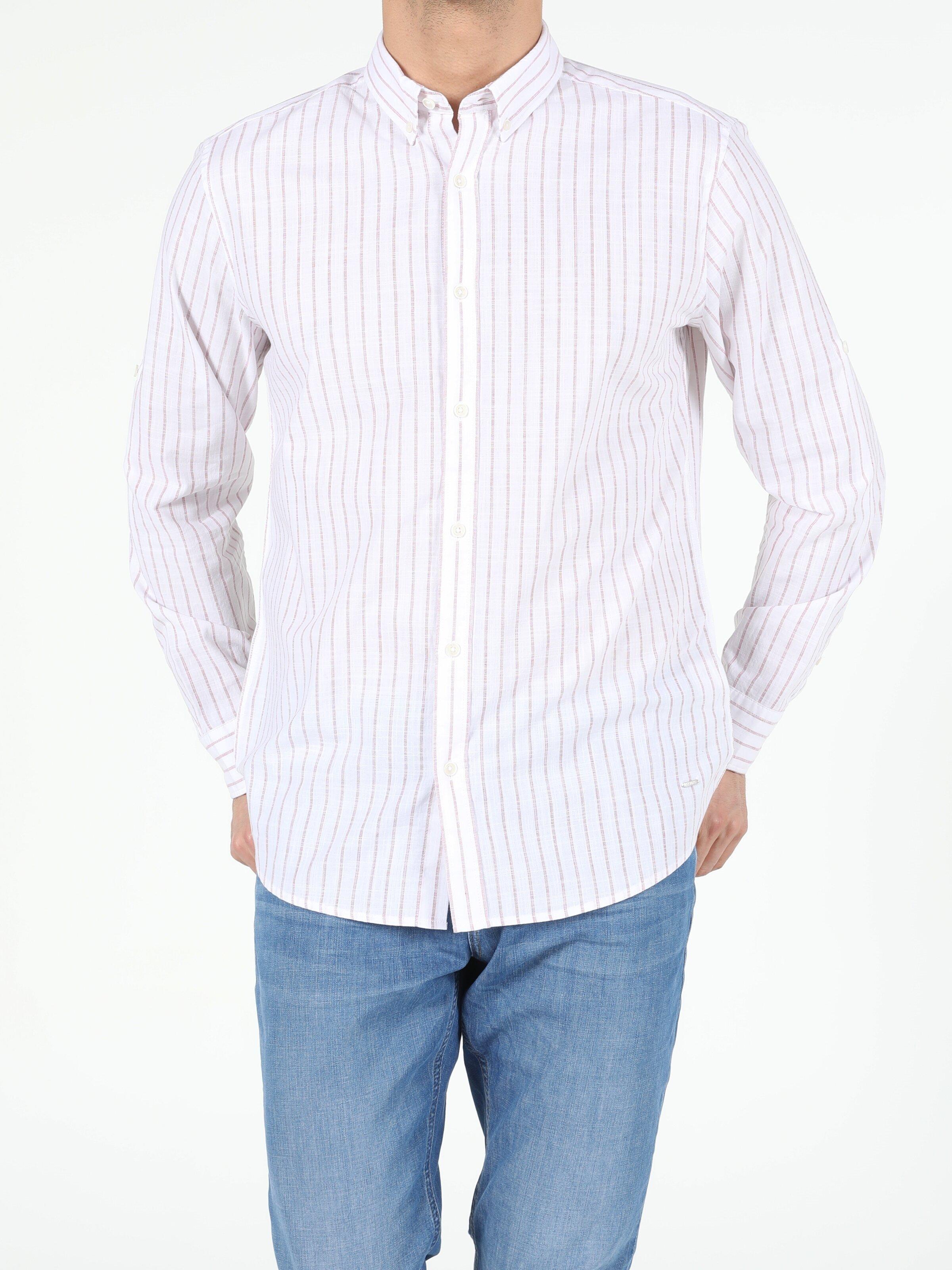 Показать информацию о Мужская рубашка с длинним рукавом regular fit CL1054061