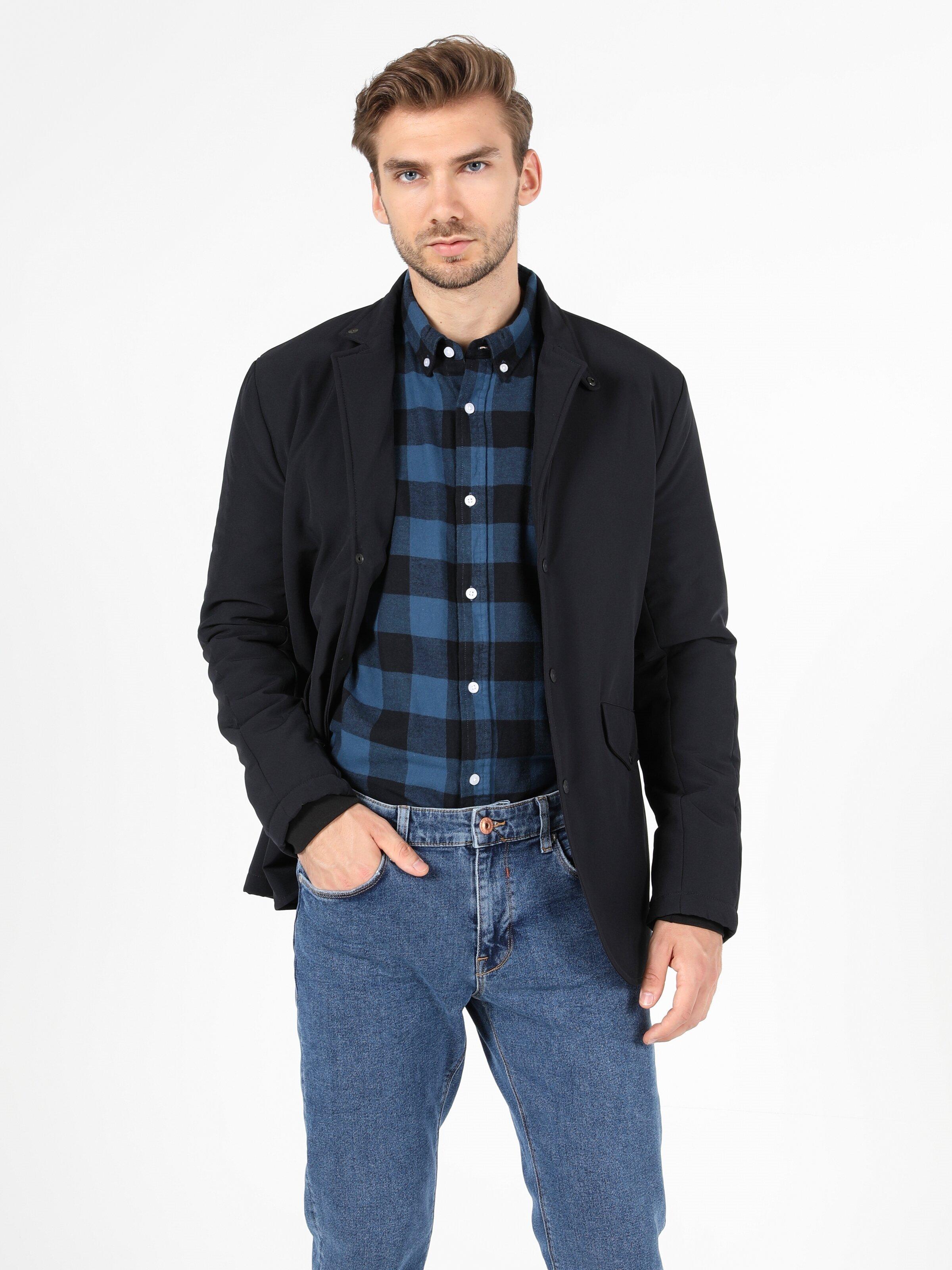 Показать информацию о Мужская куртка slim fit CL1051108
