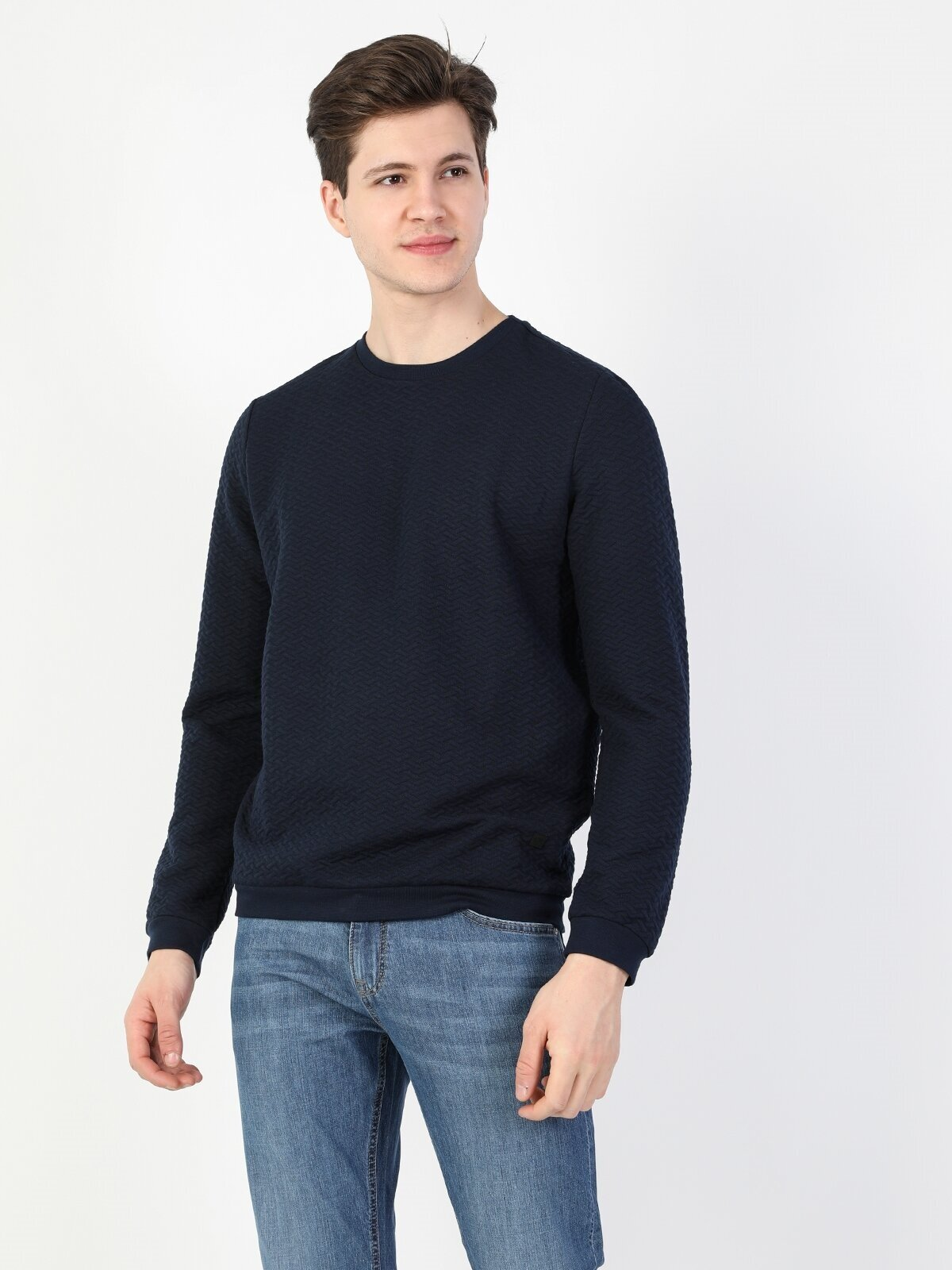 Показать информацию о Мужская толстовка regular fit CL1046285