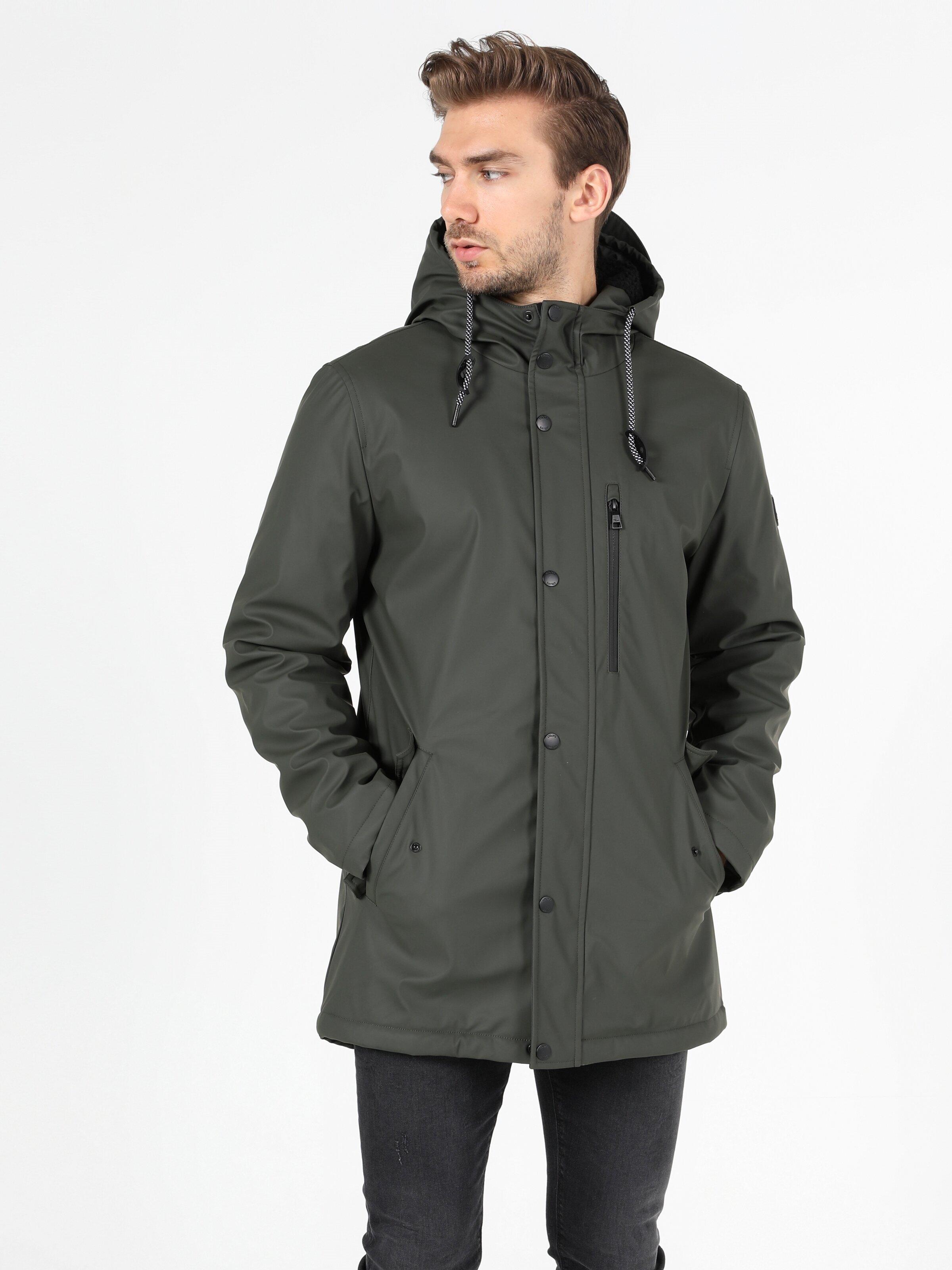 Показать информацию о Мужская куртка из эко-кожи regular fit CL1051119