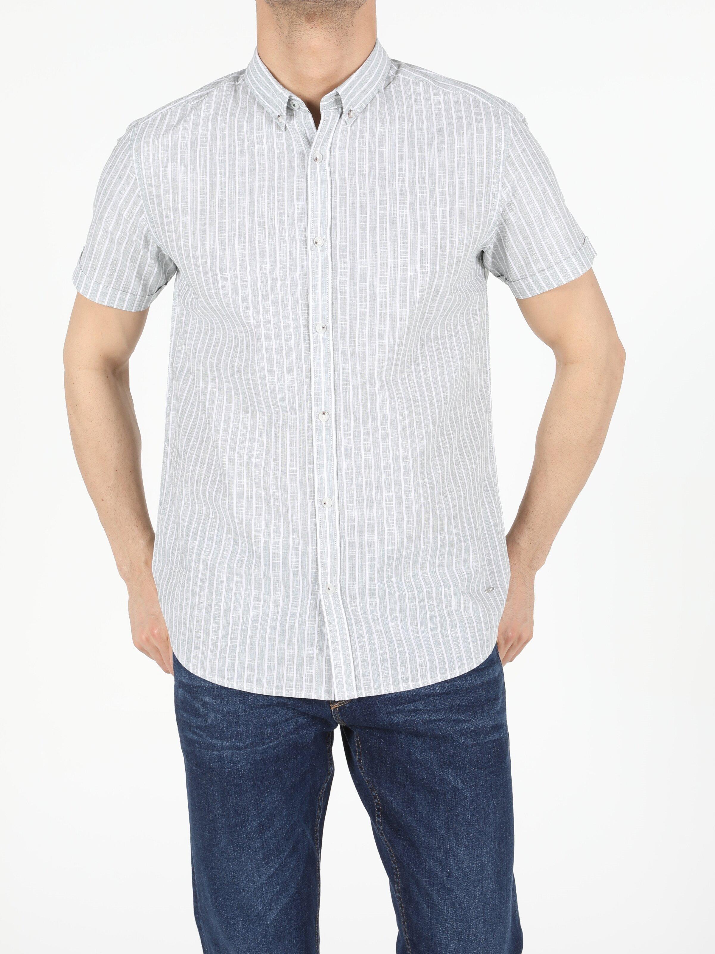 Показать информацию о Мужская рубашка с коротким рукавом regular fit CL1054711