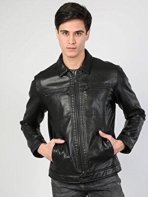Изображение Черный муж. Куртки-PU
