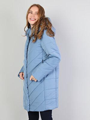 Изображение Голубой жен. Пальто