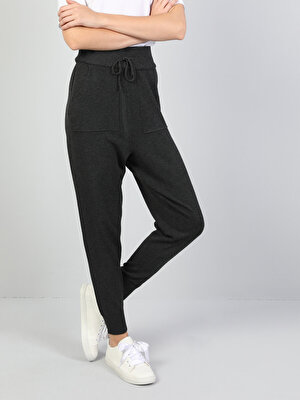 Изображение Серый жен. Спортивные брюки
