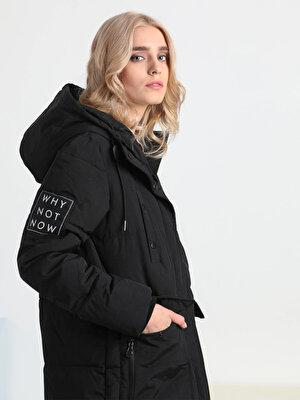 Изображение Черный жен. Пальто
