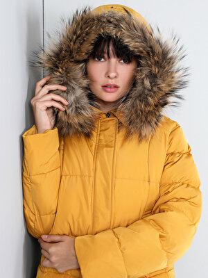 Изображение Желтый жен. Куртки