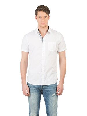 Изображение COLIN'S Белый муж. Рубашки Короткий рукав