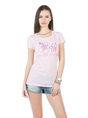 Изображение COLIN'S Розовый жен. Футболки Короткий рукав