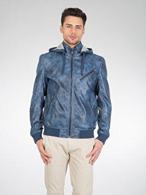 Изображение COLIN'S Голубой   муж. Куртки-PU
