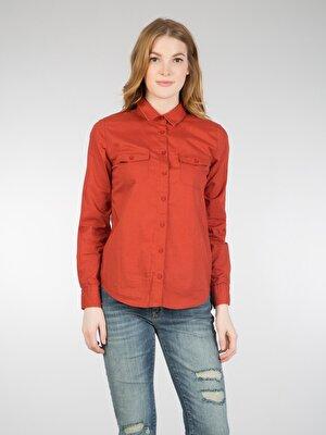 Изображение COLIN'S Оранжевый жен. Рубашки Длинний рукав