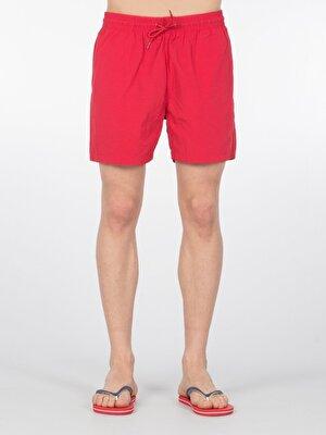 Изображение Красный муж. Пляжные шорты