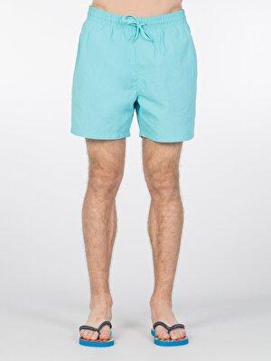 Изображение COLIN'S синий бирюзовый муж. Пляжные шорты