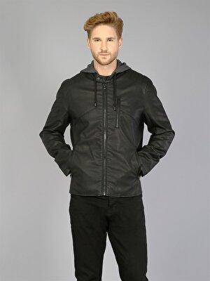 Изображение COLIN'S черный муж. Куртки-PU
