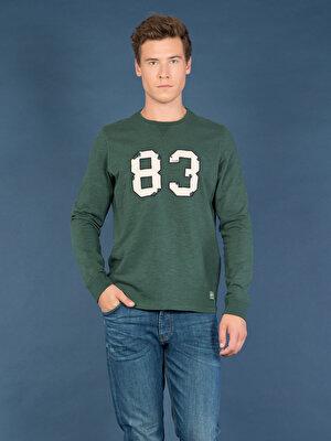 Изображение COLIN'S Зеленый муж. Футболки Длинный рукав