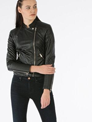 Изображение COLIN'S черный жен. Куртки-PU
