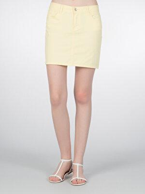 Изображение COLIN'S желтый жен. Юбки