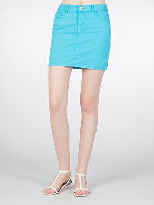Изображение COLIN'S синий бирюзовый жен. Юбки