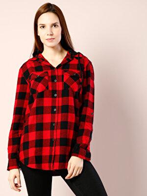Изображение COLIN'S бордовый жен. Рубашки Длинний рукав