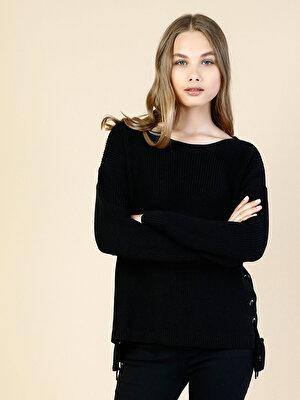 Изображение COLIN'S черный жен. Свитеры