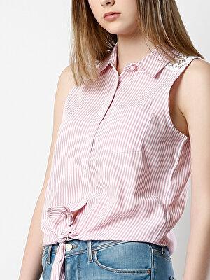Изображение COLIN'S Розовый жен. Рубашки Короткий рукав