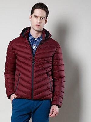 Изображение COLIN'S бордовый муж. Куртки
