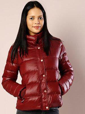 Изображение Бордовый жен. Куртки