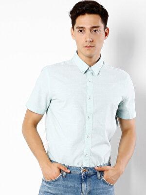 Изображение COLIN'S Зеленый муж. Рубашки Короткий рукав