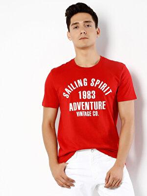 Изображение COLIN'S Красный муж. Футболки Короткий рукав