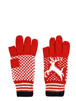 Изображение COLIN'S Красный жен. Перчатки
