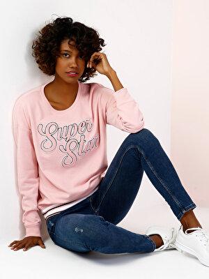 Изображение COLIN'S Розовый жен. Толстовки