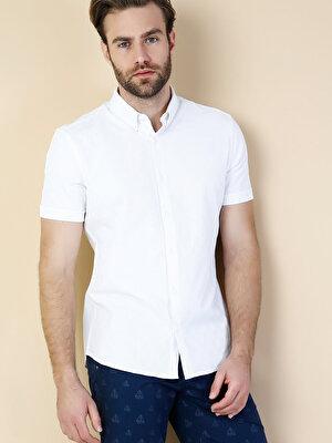 Изображение Белый муж. Рубашки Короткий рукав