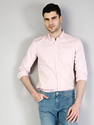 Изображение COLIN'S Розовый муж. Рубашки Длинний рукав