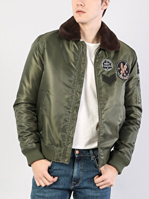 Изображение COLIN'S Зеленый муж. Куртки