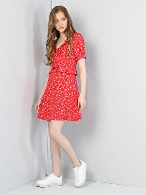 Изображение Красный жен. Платья