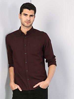 Изображение COLIN'S Пурпурный муж. Рубашки Длинний рукав