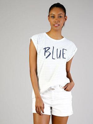 Изображение COLIN'S Голубой жен. Футболки Короткий рукав